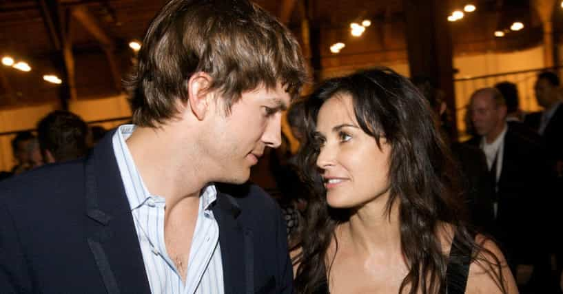Famous Women Who Married Much Younger Men