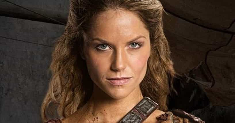 the hottest women from spartacus tv series
