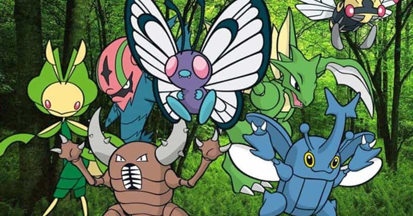 Best Bug Pokemon List | Top Bug Type Pokemon From Every ...
