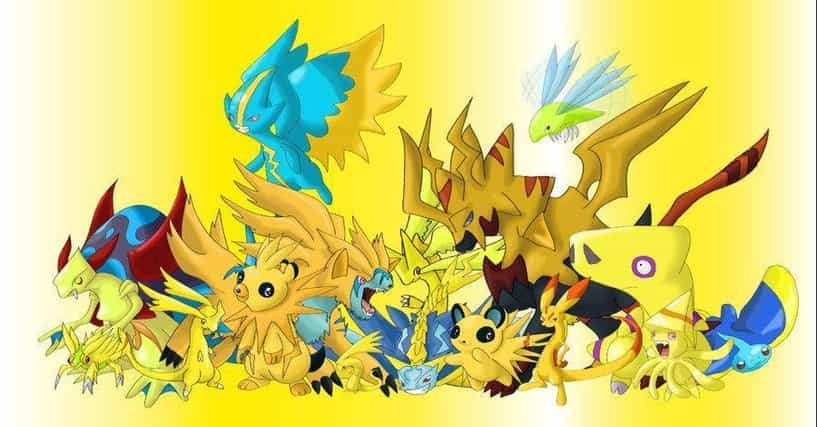 The Best Electric Pokemon of All Time