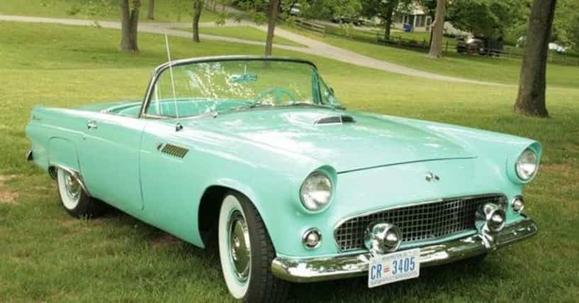 all ford thunderbird cars list of popular ford thunderbirds with pictures. Black Bedroom Furniture Sets. Home Design Ideas