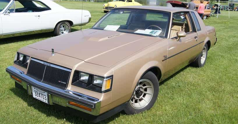 Buick Cars List: List Of All 1986 Buick Cars