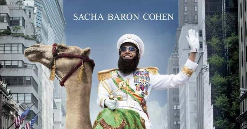 List Of Movies Like The Dictator