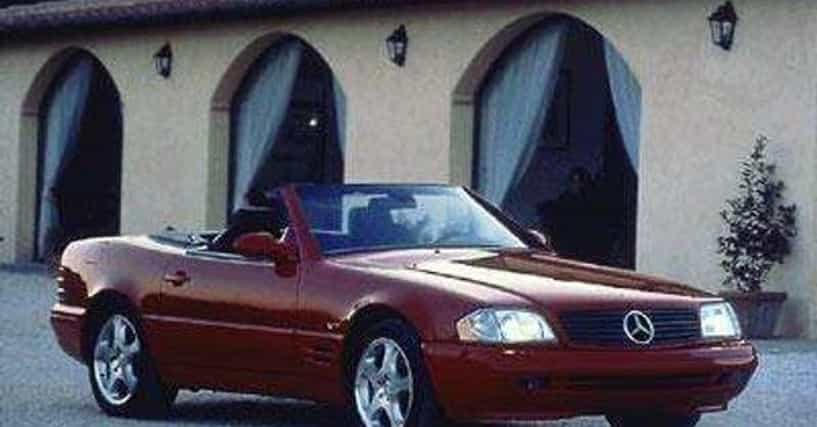Best mercedes benz sl500 roadsters list of top sl500 for Mercedes benz all models list