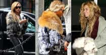 35+ Celebrities Who Wear Fur
