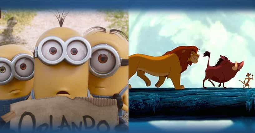 The Best Animated Movies Of All Time Ranked By Fans