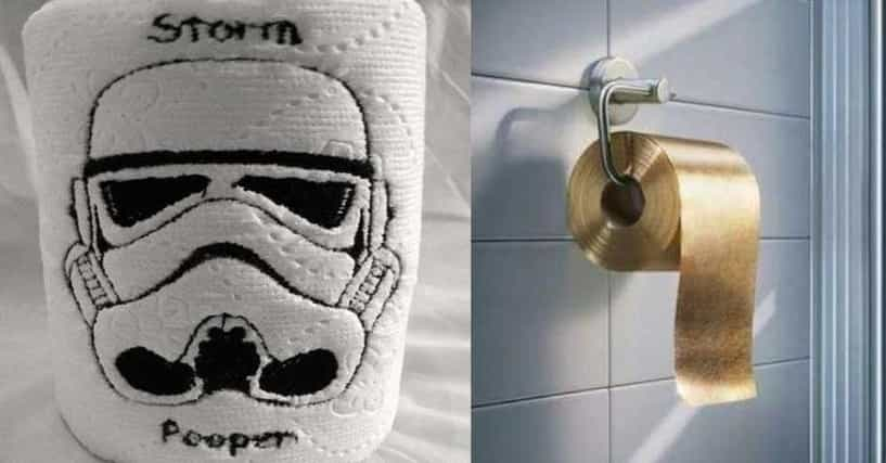 Hilarious toilet paper you 39 d wipe your own arse with for Design your own toilet paper