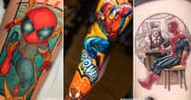 21 Of The Best Spider-Man Tattoos