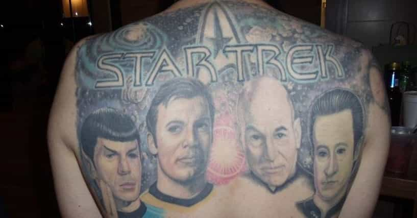 star trek tattoo ideas list of trekkie tattoos. Black Bedroom Furniture Sets. Home Design Ideas