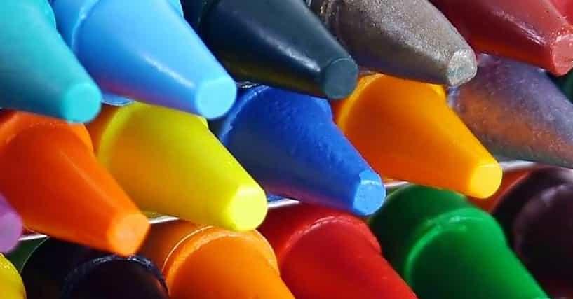 best crayola crayon color names list of funny crayon names