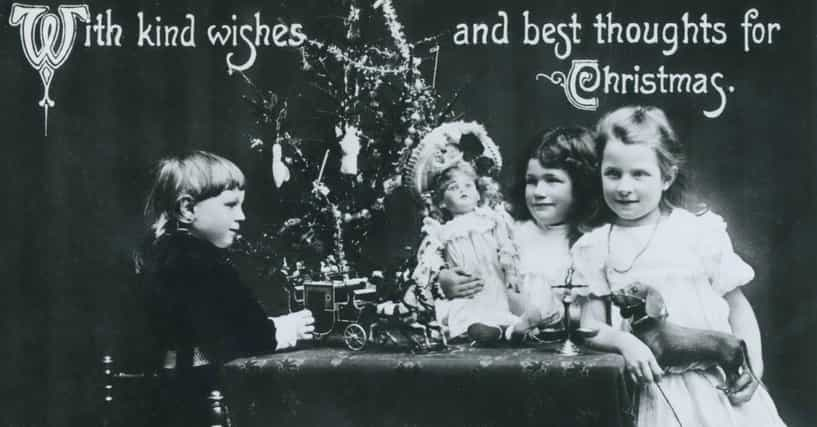 Bizarre Victorian Holiday Traditions We Still Do But Never Questioned