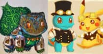 20 Awesome Steampunk Versions Of Pokemon