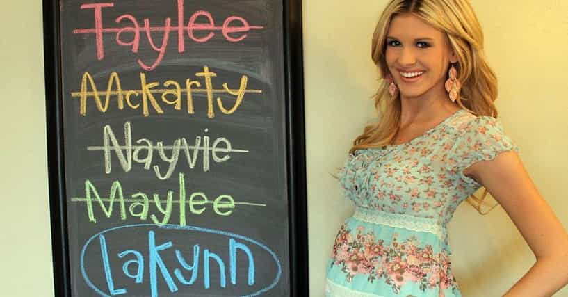 The 30+ Whitest Baby Names Ever