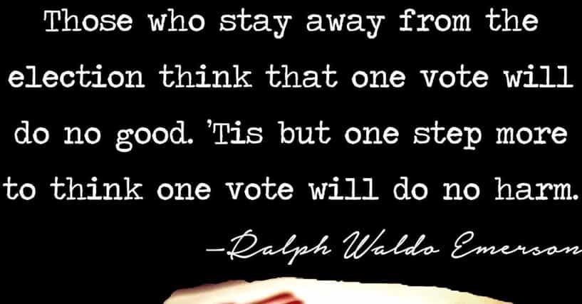 Best Famous Quotations About Voting