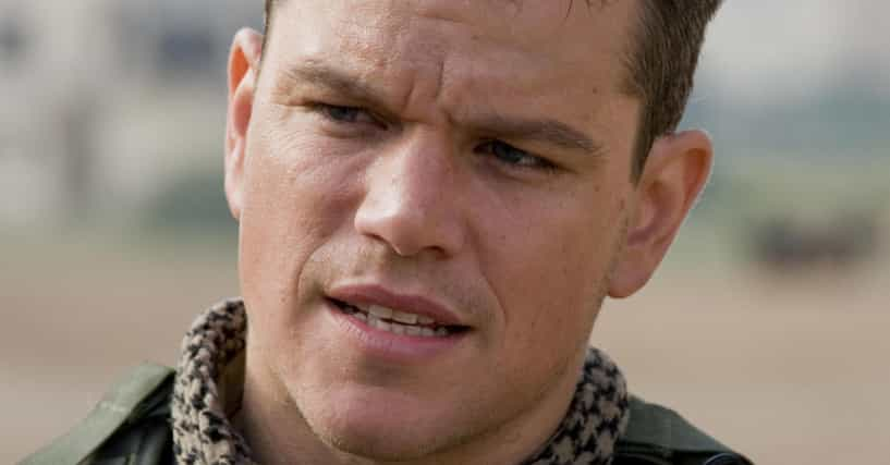Matt Damon Movies List...