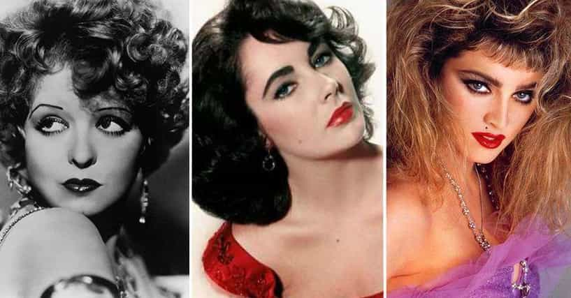 Hottest Makeup Trends From Every Decade