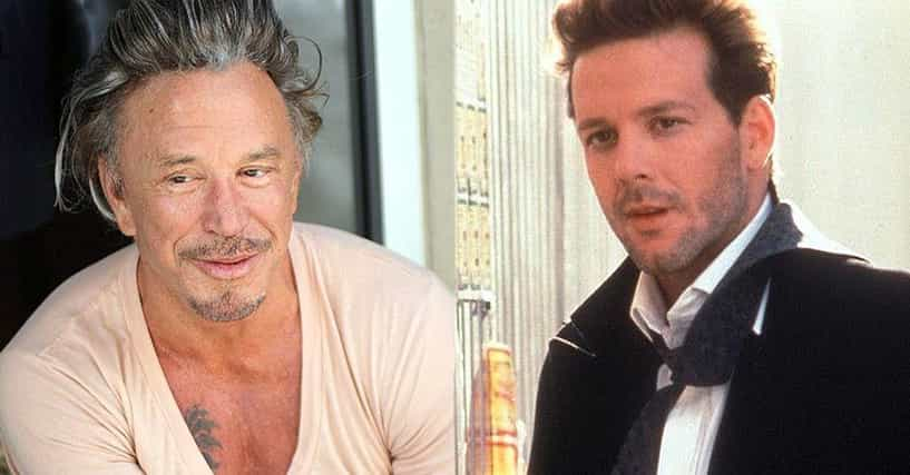 The Rise And Fall Of Mickey Rourke's Face