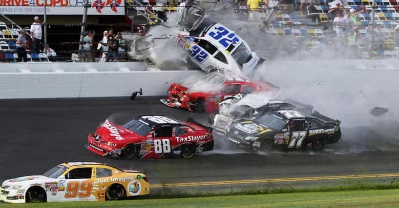 worst race car crashes list of youtube crash videos