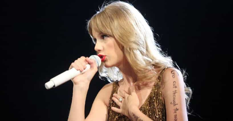 Taylor Swift Songs and... Taylor Swift Songs List