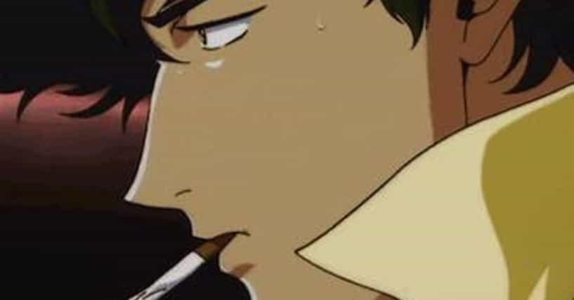 Anime Characters Smoking : Anime characters who smoke cigarettes ranked