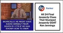 All 24 Final Jeopardy Clues That Stumped 'Jeopardy' GOAT Ken Jennings