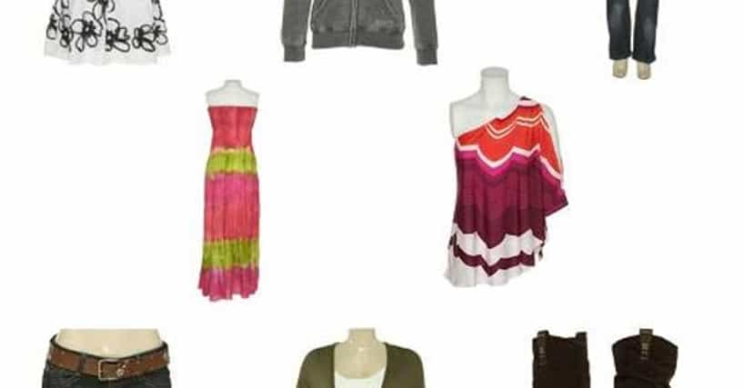 List of popular clothing stores