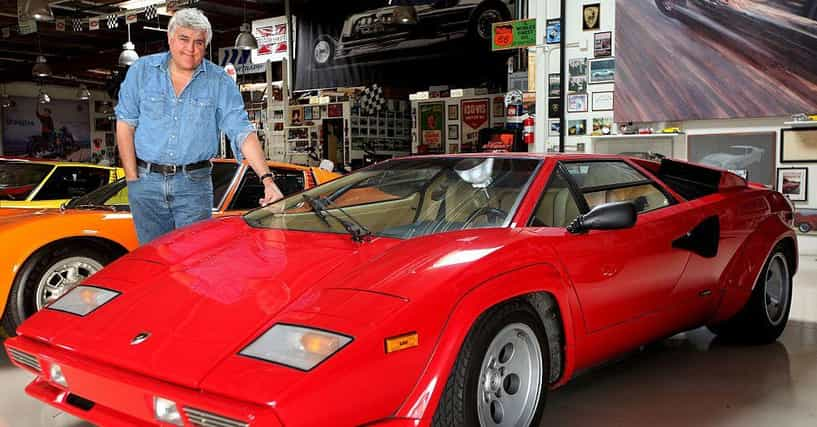 Jay Leno Cars List >> Famous People with Lamborghinis | List of Celebrities Who