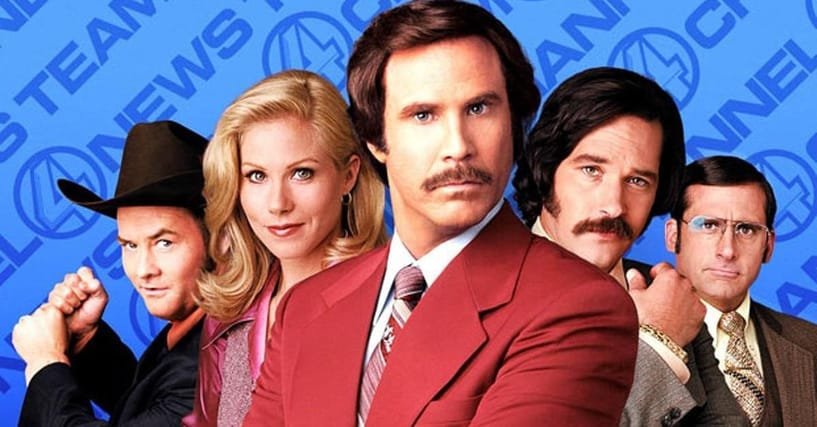 Anchorman Movie Quotes: List Of Funny Will Ferrell