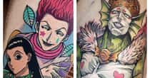 25 Incredible Anime Villain Tattoos For Those With A Dark Side