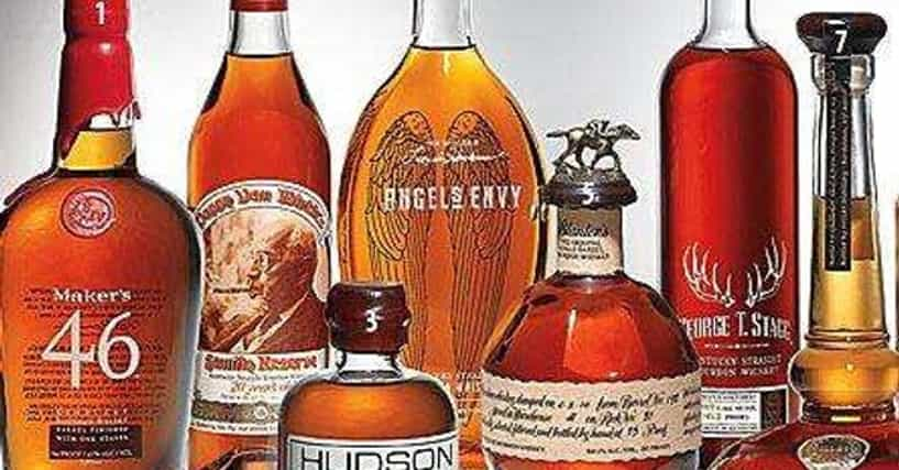 List Of 30 Best Bourbon Brands Of All Time