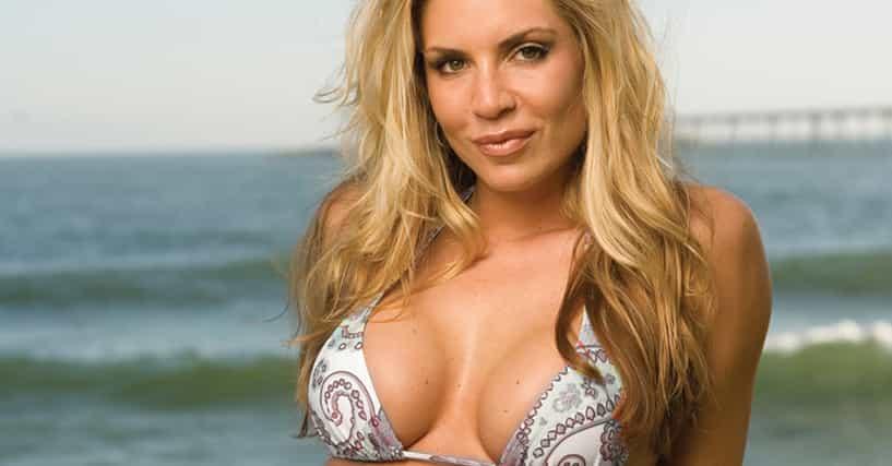 Busty blonde american soccer girl stripping - 3 2