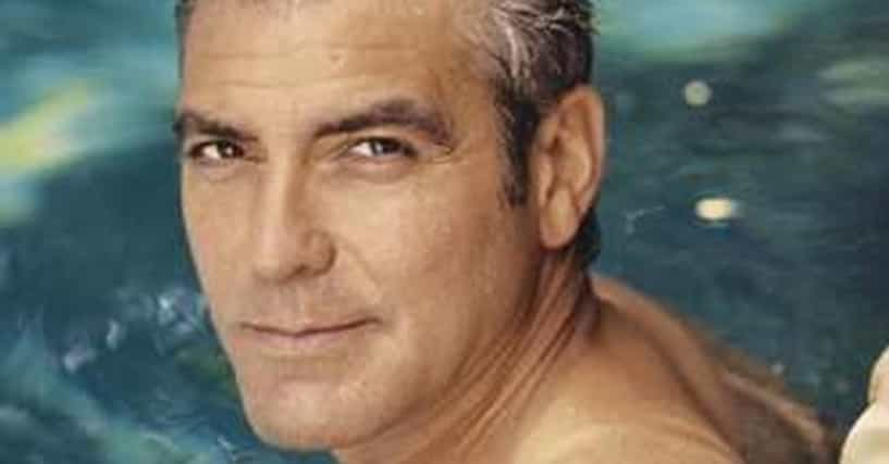 shirtless george clooney hot pics photos and images. Black Bedroom Furniture Sets. Home Design Ideas