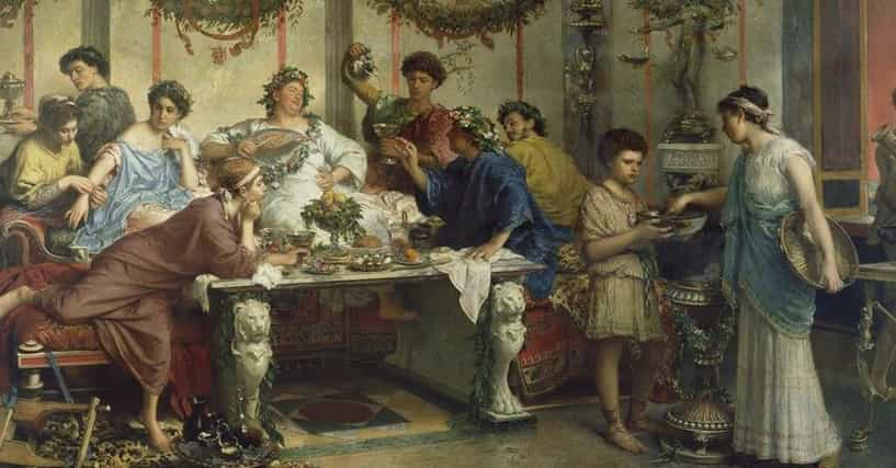 11 Facts About What Ancient Roman Parties Were Really Like