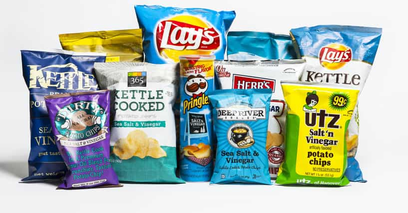 Potatoes chips brands