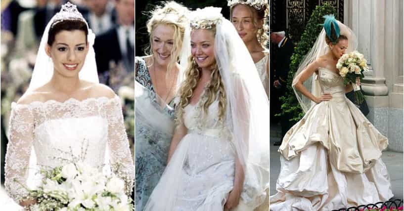 8 Fun Facts About Wedding Traditions Around The World: Best Movie Wedding Dresses