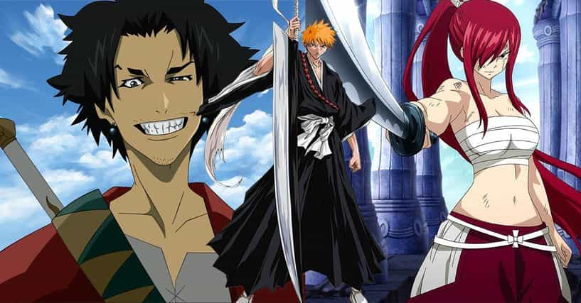 Anime Characters Ranker : The best anime swordsman of all time page