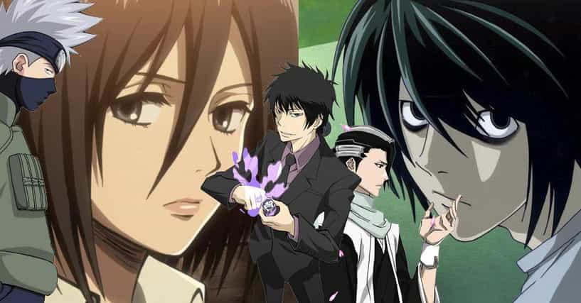 Smartest Anime Characters Ranker : List of top anime characters with black eyes