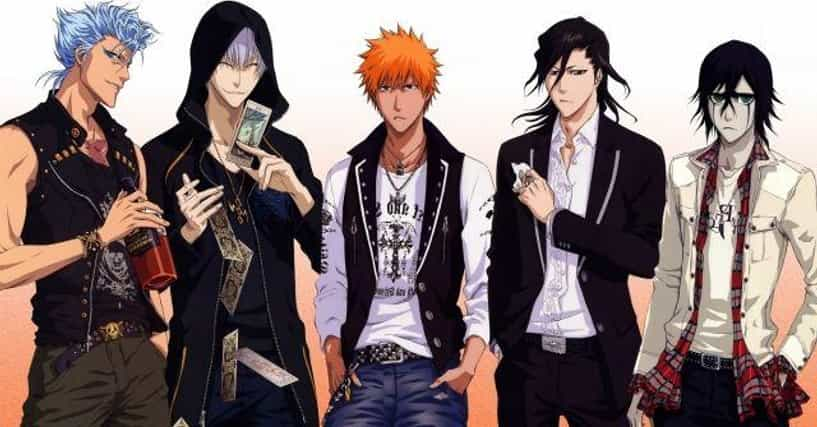 Hottest Anime Characters Ranker : The best dressed male anime characters