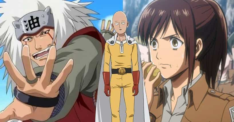 Anime Characters Ranker : The funniest anime characters ranked by fans