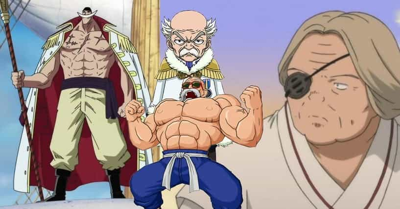 Smartest Anime Characters Ranker : Old anime characters the best elderly