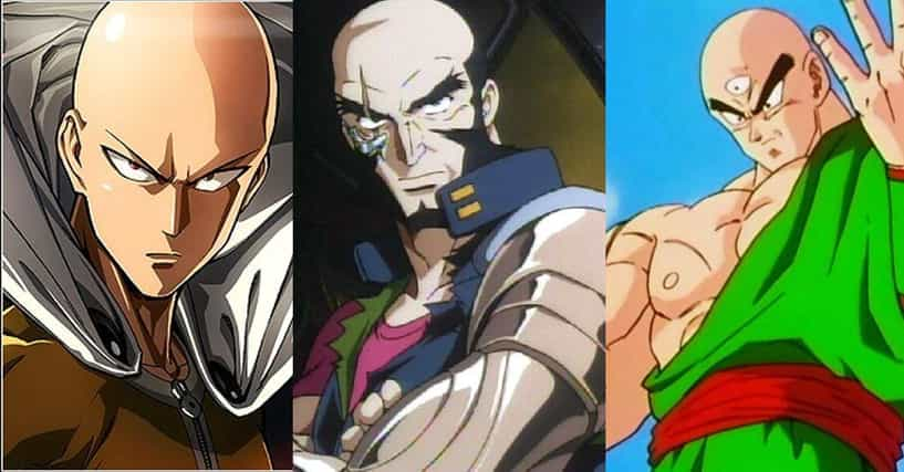 Anime Characters Ranker : The greatest bald anime characters with no hair
