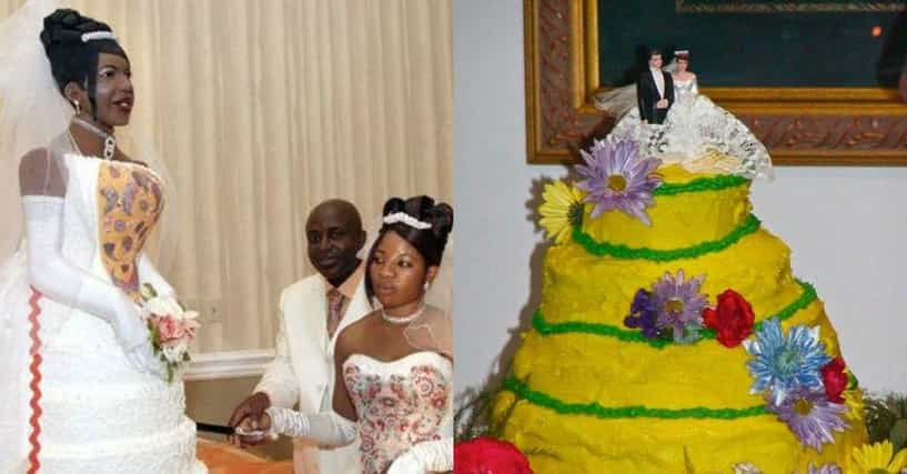 Cringe Worthy Wedding Cake Fails
