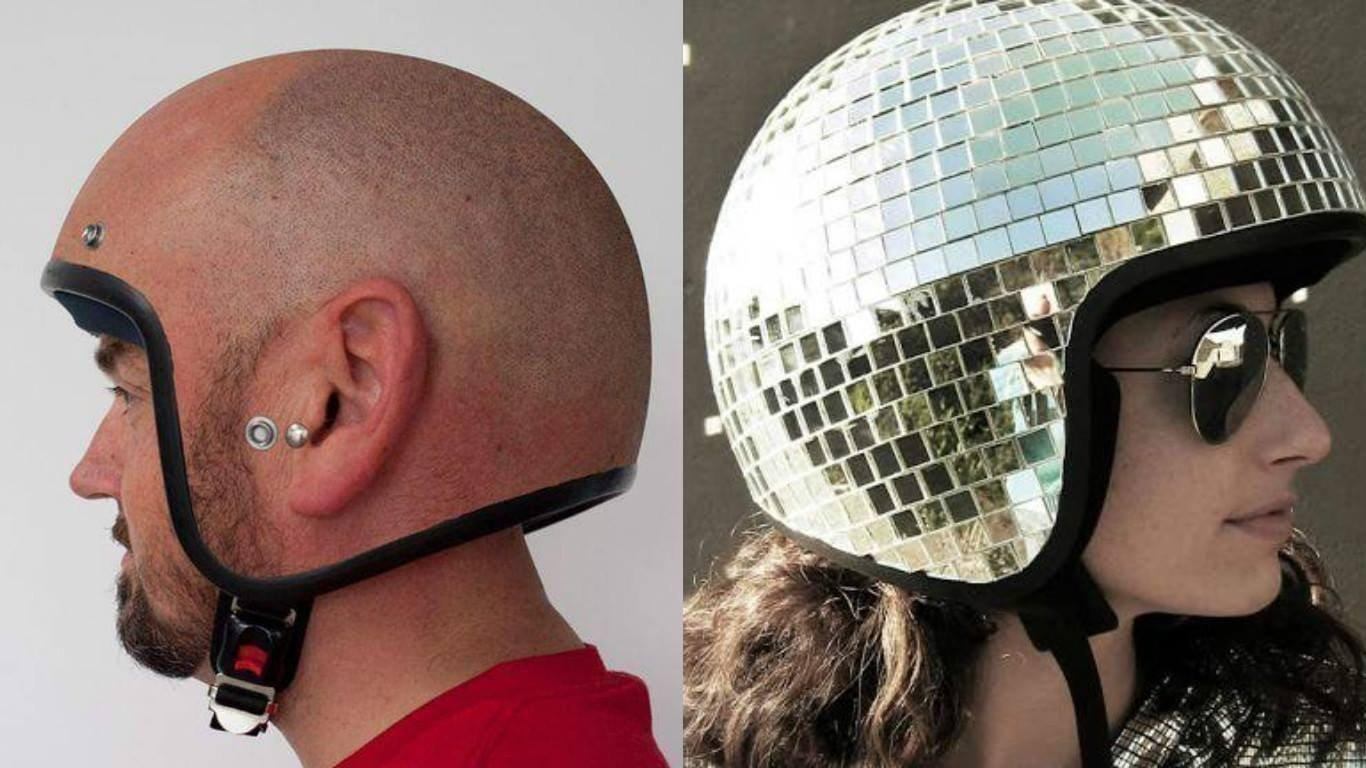 The Funniest Motorcycle Helmets Ever