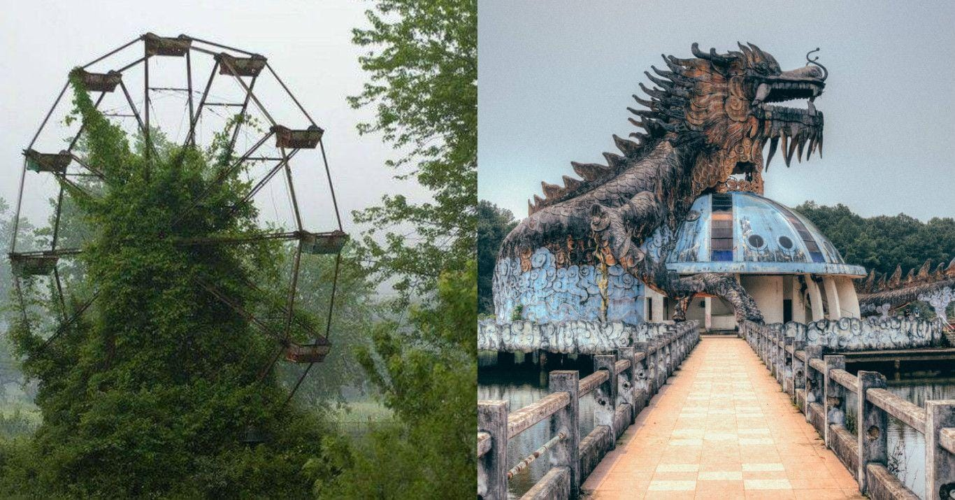 26 Creepy Pictures of Abandoned Amusement Parks
