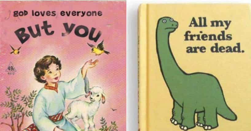 Wikihow Funny Pictures >> 22 Book Titles That Are So Sad That They're Actually Funny