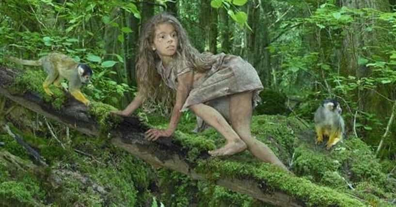 Feral children: Beautiful photos portray real-life stories