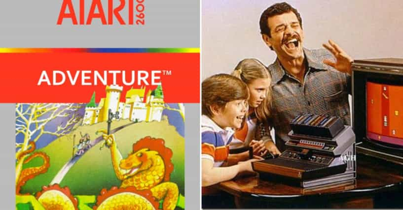 The History Of The First Video Game Easter Egg In Atari 2600 Adventure