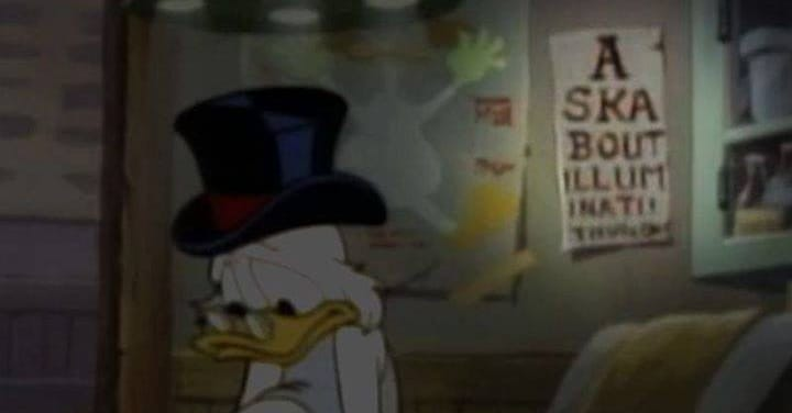 Disturbingly Dark Imagery Hidden In Children's Shows And Movies Throughout The Decades