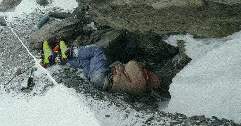 """The Creepy Story of """"Green Boots,"""" The Frozen Corpse On Mt ..."""