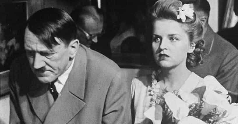 Adolf Hitler And Eva Braun Had The Most Depraved Wedding ...